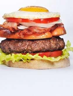 OL-Burger oppskrift.