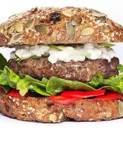 Prøv også Supersunn burger.