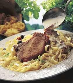 Prøv også Koteletter med pasta.
