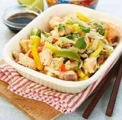 Prøv også Laks i wok 2.