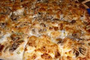 Prøv også Hvit pizza.