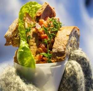 Prøv også VM-blings med leverpostei og bacon.