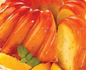 Bilde av Gel�glasert dessertkake.