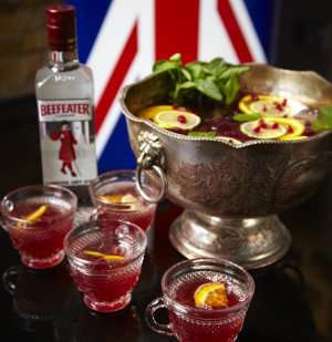 The Beefeater Royal Punch oppskrift.