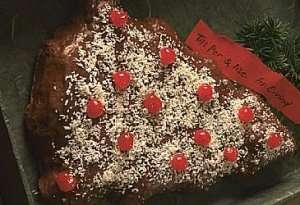 Appelsin/sjokoladekake til jul oppskrift.