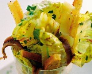 Prøv også Cæsarsalat på glass.