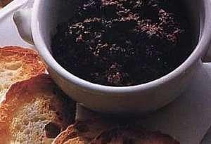 Prøv også Tapénade - olivenpesto.