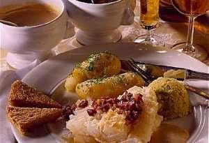 Lutefisk med gamalost oppskrift.