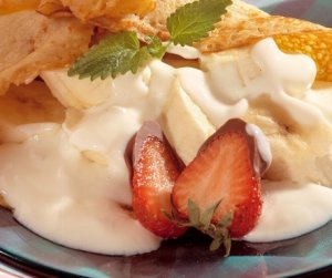 Prøv også Pannekaker med yoghurtgodt.