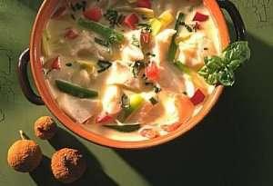 Les mer om Fiskegryte med sopp og gr�nnsaker hos oss.