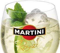 Prøv også Martini Royal.