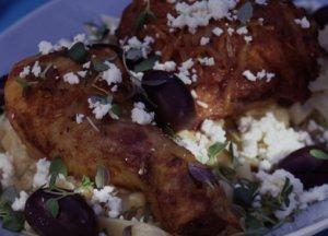 Prøv også Gresk kylling med oliven og fetaost.