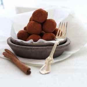 Pr�v ogs� Sjokoladetr�fler med sukrin.