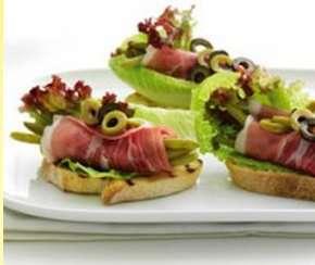 Prøv også Tapas med haricots verts og skinke.