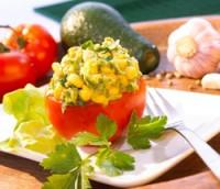 Prøv også Tomater med fyll av mais- og avokadokrem.
