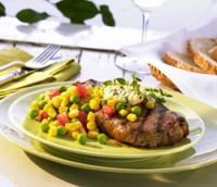 Prøv også Saftige grillede biffer med peppergrønnsaker.