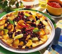 Prøv også Tortilla med kidneybønner.