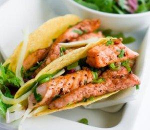Prøv også Marit Bjørgens laks i tacoskjell.