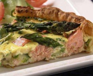 Prøv også Pai med laks og asparges.