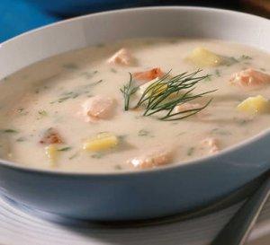 Prøv også Suppe med laks.