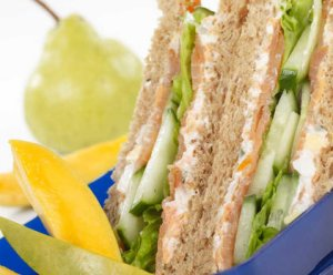Prøv også Sandwich med laks og agurk.