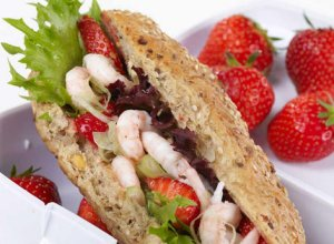 Prøv også Reker og jordbær i matpakken.