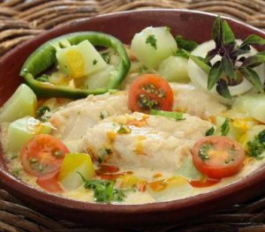 Read more about Moqueca med klippfisk av sei in our websites(In Norwegian).