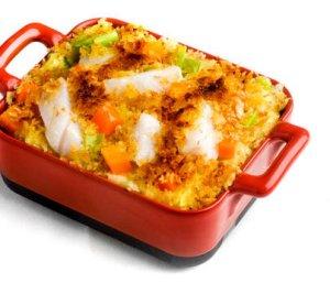 Prøv også Torsk og potetgrateng med sennep.