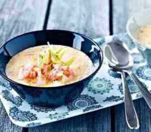 Prøv også Torskesuppe med fennikel og reker.