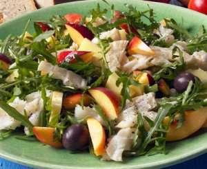 Prøv også Salat med klippfisk og fersken.