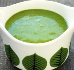 Grønn salsa oppskrift.