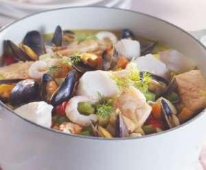 Bilde av Marits fiskesuppe.