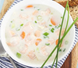 Prøv også Fiskesuppe med fennikel enkel.