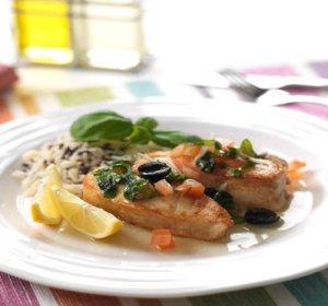 Prøv også Stekt torsk med tomat og basilikum.