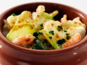 Prøv også Grønnsaksform med reker.