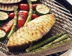 Prøv også Kveite med grillede grønnsaker.