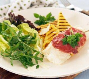 Prøv også Klippfisk a la saltimbocca.