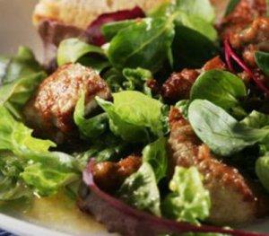 Prøv også Salat med torskelever.