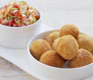 Prøv også Klippfiskboller med salsa.