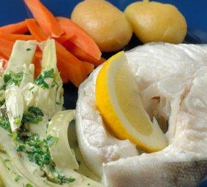 Prøv også Kokt skrei med fennikelstuing og gulrøtter.