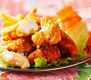 Prøv også Nuggets med torsk Kirkenes de Luxe.