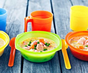 Prøv også Kremet grønnsakssuppe med reker, laks og torsk.