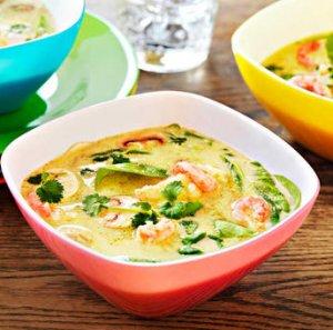 Prøv også Grønn currysuppe med torsk og reker.