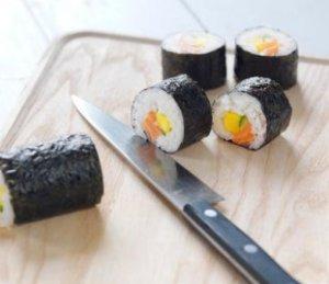Prøv også Maki sushi med laks.