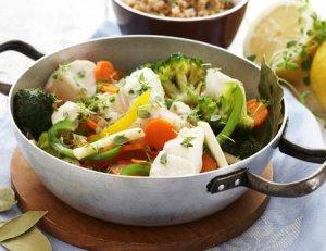 Prøv også Gryte med torsk og grønnsaker.