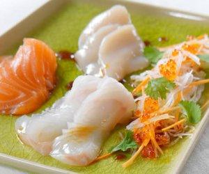 Prøv også Sashimi.