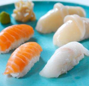 Prøv også Nigiri sushi 2.