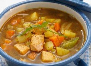 Prøv også Laksesuppe med rotgrønnsaker.