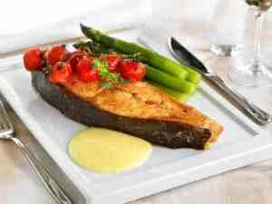 Prøv også Kveite med asparges og hollandaisesaus.