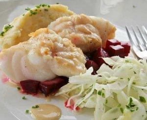 Prøv også Breiflabb med fennikelsalat.
